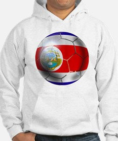 Costa Rica Soccer Ball Hoodie