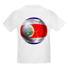 Costa Rica Soccer Ball T-Shirt