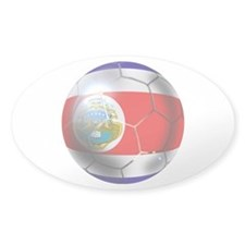 Costa Rica Soccer Ball Decal