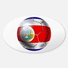 Costa Rica Soccer Ball Decal