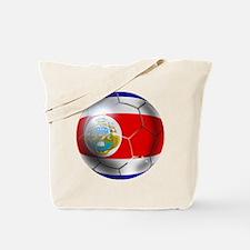 Costa Rica Soccer Ball Tote Bag