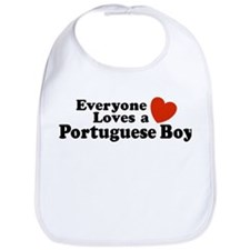 Everyone Loves a Portuguese Boy Bib
