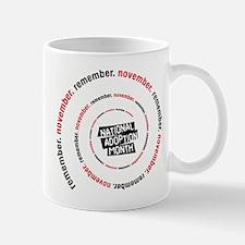 RememberNovember spiral Mug