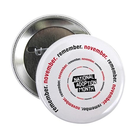 RememberNovember spiral Button