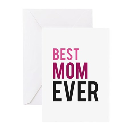 Best mom ever greeting cards pk of 10 by funniestsayings for Best holiday cards ever