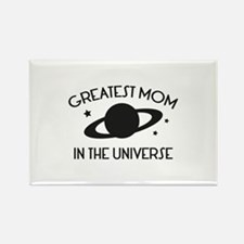 Greatest Mom In The Universe Rectangle Magnet
