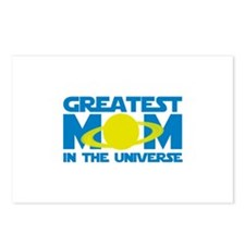 Greatest Mom In The Universe Postcards (Package of