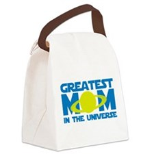 Greatest Mom In The Universe Canvas Lunch Bag
