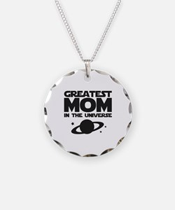 Greatest Mom In The Universe Necklace