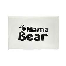 Mama Bear Rectangle Magnet