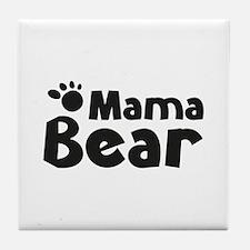 Mama Bear Tile Coaster