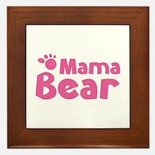 Mama Bear Framed Tile