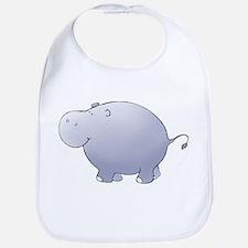 Purple Hippo Bib