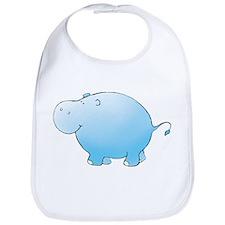 Turquoise Hippo Bib
