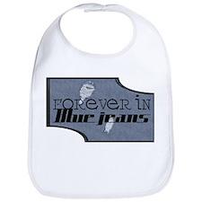Forever In Blue Jeans Bib