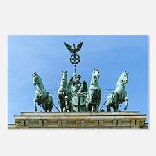 Brandenburg Gate Quadriga Berlin Postcards (Packag