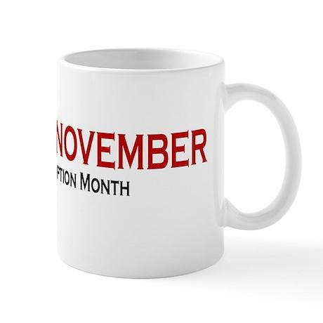 RememberNovember text Mug
