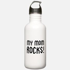 My Mom Rocks! Water Bottle