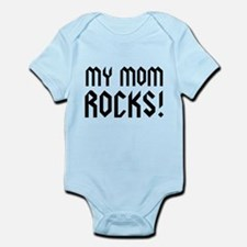 My Mom Rocks! Infant Bodysuit