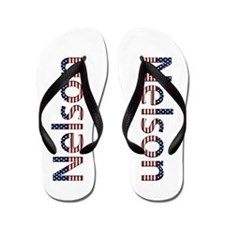 Nelson Stars and Stripes Flip Flops