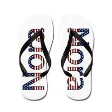 Nora Stars and Stripes Flip Flops
