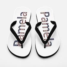 Pamela Stars and Stripes Flip Flops