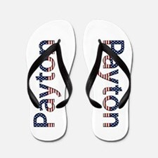 Payton Stars and Stripes Flip Flops
