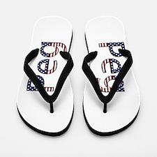 Peg Stars and Stripes Flip Flops