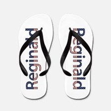Reginald Stars and Stripes Flip Flops