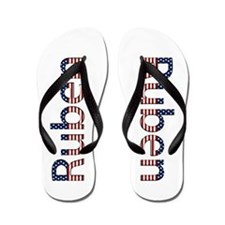 Ruben Stars and Stripes Flip Flops