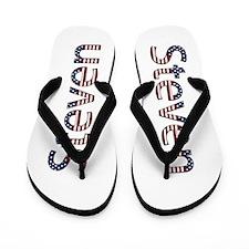 Steven Stars and Stripes Flip Flops