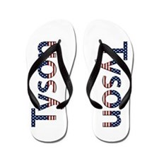 Tyson Stars and Stripes Flip Flops