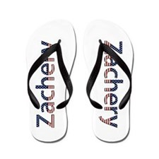 Zachery Stars and Stripes Flip Flops