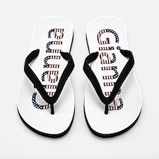 Gianna Stars and Stripes Flip Flops