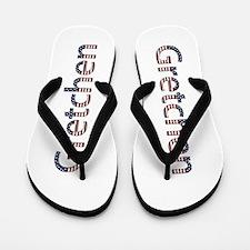 Gretchen Stars and Stripes Flip Flops