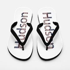 Hudson Stars and Stripes Flip Flops