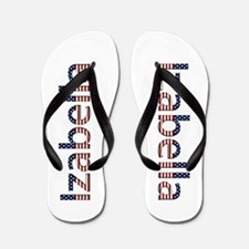 Izabella Stars and Stripes Flip Flops