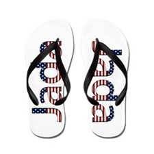 Jada Stars and Stripes Flip Flops