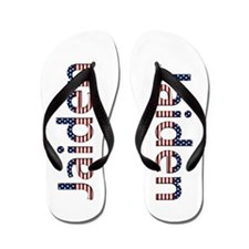 Jaiden Stars and Stripes Flip Flops