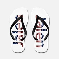 Jalen Stars and Stripes Flip Flops