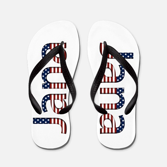 Jana Stars and Stripes Flip Flops