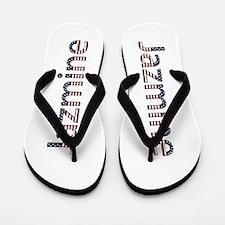 Jazmine Stars and Stripes Flip Flops