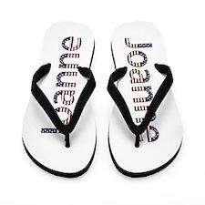 Joanne Stars and Stripes Flip Flops