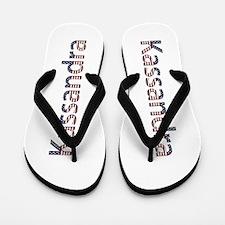 Kassandra Stars and Stripes Flip Flops