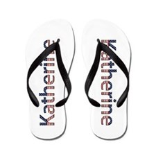 Katherine Stars and Stripes Flip Flops