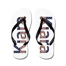 Kiara Stars and Stripes Flip Flops