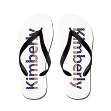 Kimberly Stars and Stripes Flip Flops