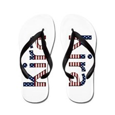 Kira Stars and Stripes Flip Flops
