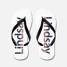 Lindsay Stars and Stripes Flip Flops
