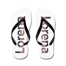Lorena Stars and Stripes Flip Flops